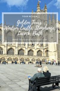 Golden Tours Windsor Castle, Stonehenge, Lacock, Bath